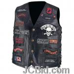JCBid.com online auction Leather-biker-vest-23-patches