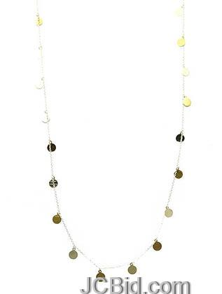 JCBid.com Long-Sequin-Necklace-Colored