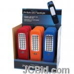 JCBid.com online auction 12pc-display-24-led-flashlight