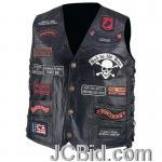 JCBid.com online auction Leather-biker-vest-23-patches