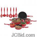 JCBid.com online auction 16pc-aluminum-cookware-set