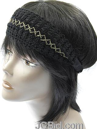 JCBid.com Metallic-Thread-Headband