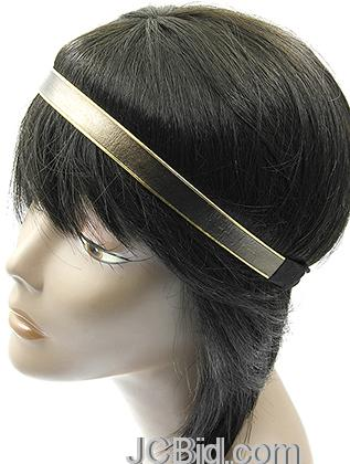 JCBid.com Metallic-Two-Tone-Headband