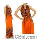 JCBid.com online auction Your-choice-maxi-dress-fuchsia-or-orang