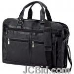 JCBid.com online auction Solid-leather-portfolio-bc