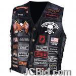 JCBid.com online auction Buf-lth-vest-w42-patches-m