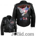 JCBid.com online auction Pebble-leather-moto-jacket-l