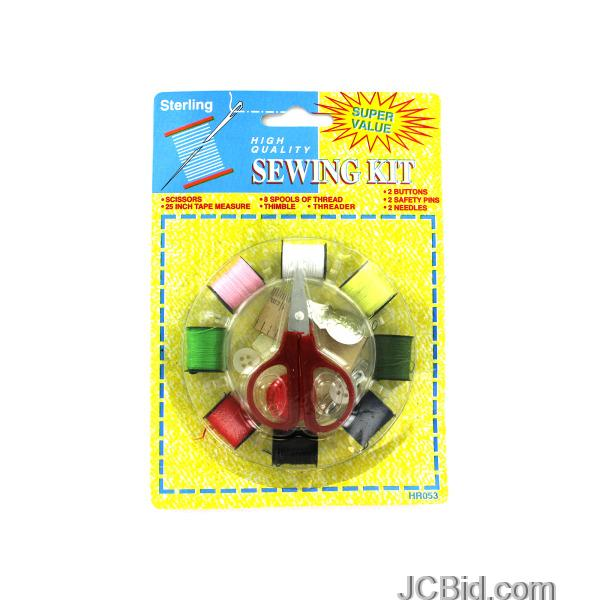 JCBid.com Sewing-Kit-display-Case-of-108-pieces