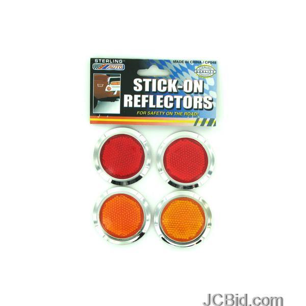 JCBid.com Stick-On-Reflectors-Set-display-Case-of-84-pieces