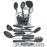 JCBid.com online auction 17pc-kitchen-tool-set