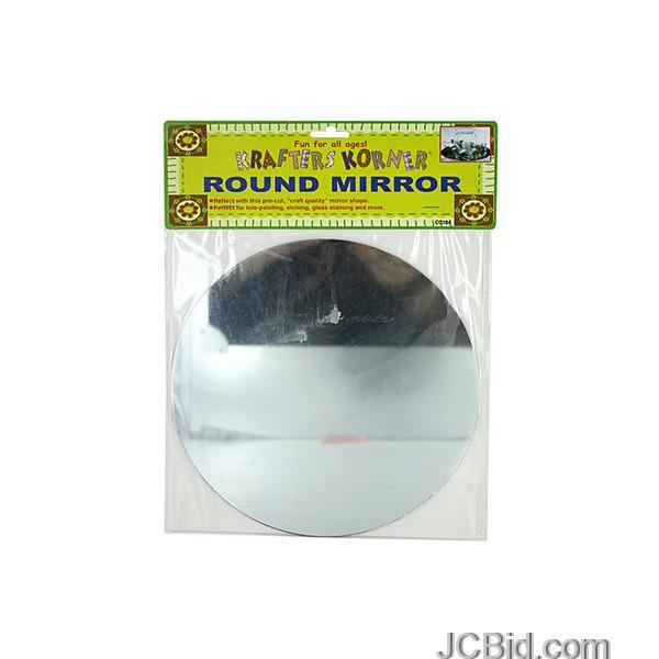JCBid.com Round-Craft-Mirror-display-Case-of-108-pieces