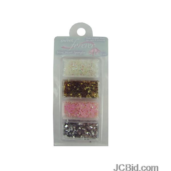 JCBid.com Mini-Heart-Spangles-display-Case-of-228-pieces
