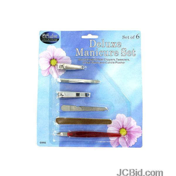 JCBid.com Deluxe-Manicure-Set-display-Case-of-96-pieces
