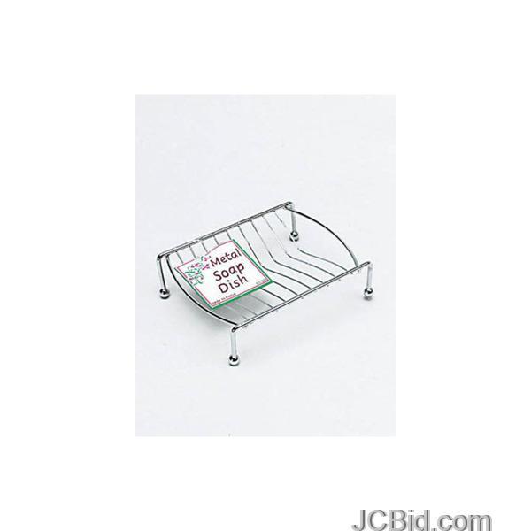 JCBid.com Metal-Soap-Dish-display-Case-of-84-pieces