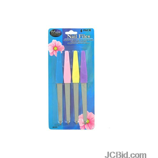 JCBid.com Nail-File-Set-display-Case-of-60-pieces