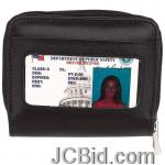 JCBid.com online auction Accordion-wallet-lambskin-lthr