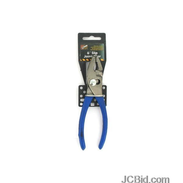 JCBid.com Slip-Joint-Pliers-display-Case-of-72-pieces