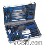 JCBid.com online auction 21pc-cutlery-set