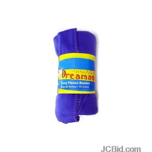 JCBid.com Cozy-Fleece-Blanket-display-Case-of-24-pieces