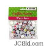 JCBid.com Wiggly-Eyes-display-Case-of-96-pieces