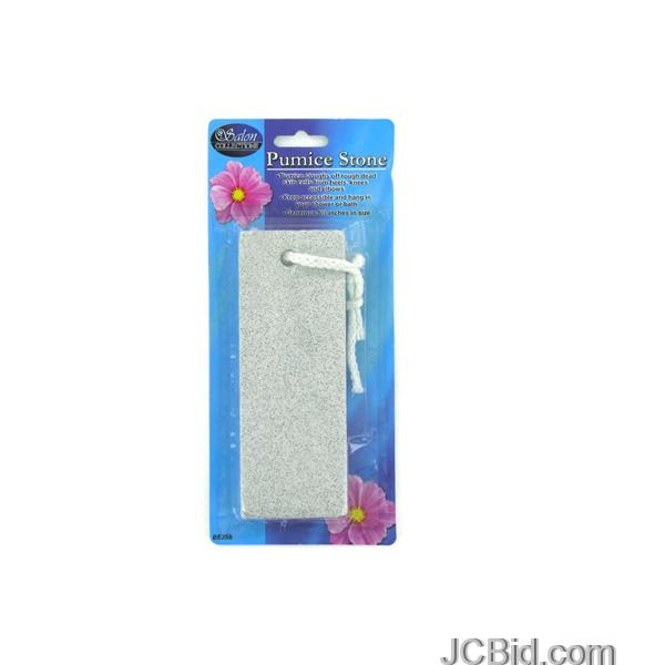 JCBid.com Pumice-Stone-with-Hang-Loop-display-Case-of-108-pieces