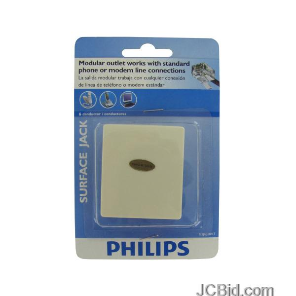 JCBid.com Philips-6-Conductor-Surface-Jack-display-Case-of-156-pieces
