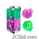 JCBid.com Exfoliating-Body-Puff-Display-display-Case-of-144-pieces