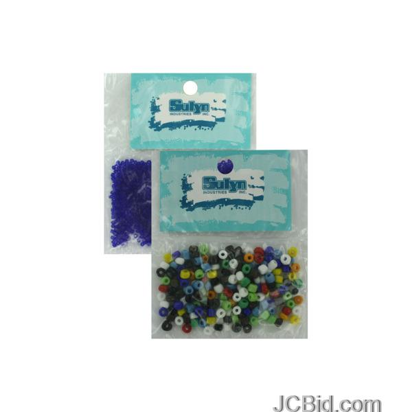 JCBid.com Assorted-seed-beads-display-Case-of-156-pieces