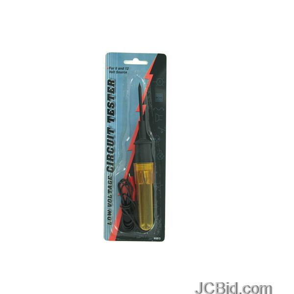 JCBid.com Low-Voltage-Circuit-Tester-display-Case-of-72-pieces