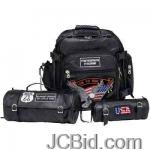 JCBid.com online auction 3pc-buffalo-motorcycle-bag-diamond-plate-3pc-rock-design-genuine-buffalo-leather-motorcycle-bag-set