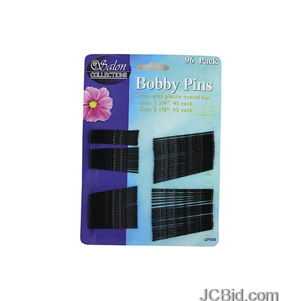JCBid.com Black-Bobby-Pins-display-Case-of-84-pieces