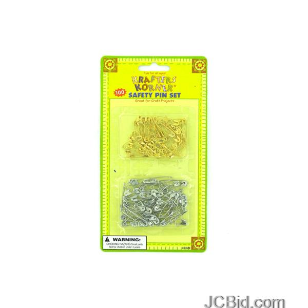 JCBid.com Crafting-Safety-Pins-display-Case-of-108-pieces