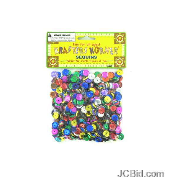 JCBid.com Round-Colored-Sequins-display-Case-of-120-pieces