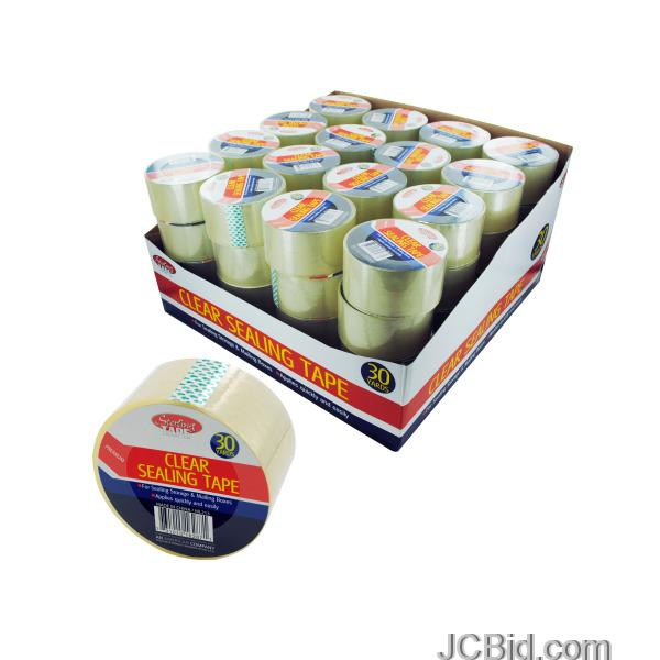 JCBid.com Clear-Sealing-Tape-Counter-Top-Display-display-Case-of-84-pieces