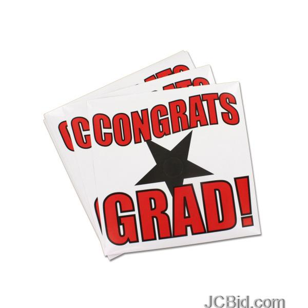 JCBid.com Mortarboard-Stickers-display-Case-of-180-pieces