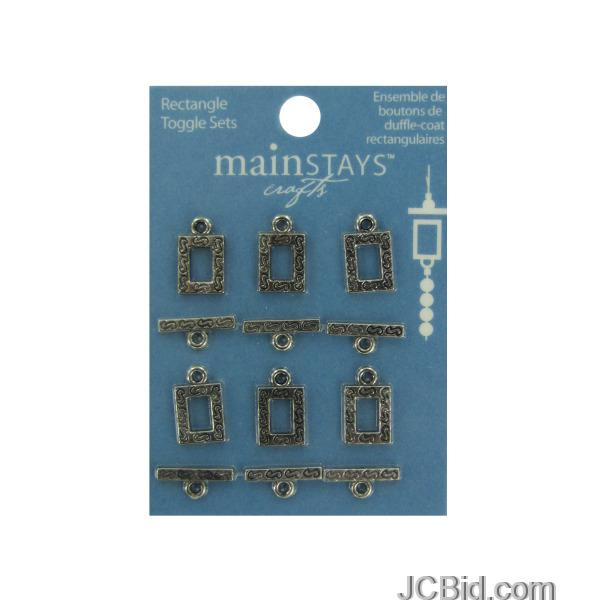 JCBid.com Rectangle-toggle-sets-display-Case-of-204-pieces