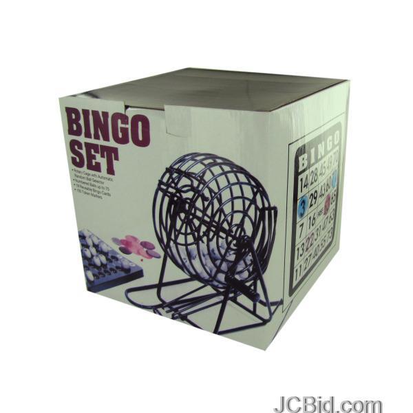 JCBid.com Complete-Bingo-Set-display-Case-of-12-pieces