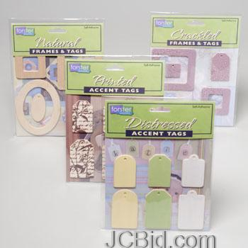 JCBid.com Beautiful-Frames-and-Tags-for-Scrapbooking-Lot-of-576pc