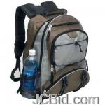 JCBid.com online auction Polyester-backpack-maxam-backpack