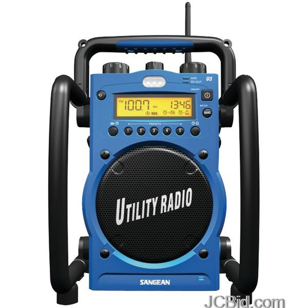 Sangean Digital Water Resistant Utility Radio