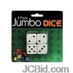 JCBid.com Jumbo-Dice-display-Case-of-72-pieces