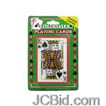 JCBid.com Plastic-Coated-Poker-Size-Playing-Cards-display-Case-of-84-pieces