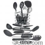 JCBid.com online auction 17pc-kitchen-tool-set