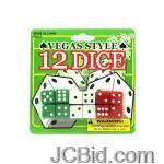 JCBid.com Casino-Style-Dice-display-Case-of-84-pieces