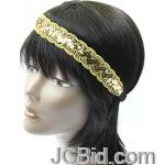 JCBid.com Metallic-Trim-Headband
