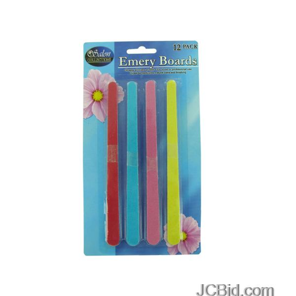 JCBid.com Emery-Boards-Set-display-Case-of-60-pieces
