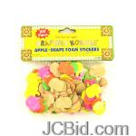 JCBid.com online auction Apple-shape-foam-stickers-display-case-of-120-pieces