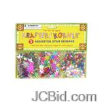 JCBid.com online auction Star-shaped-craft-sequins-display-case-of-156-pieces