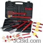 JCBid.com online auction 19pc-bbq-tool-set-in-case