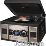 JCBid.com online auction Crosley-radio-cr2413a-bk-memory-master-ii-cd-recorder-black